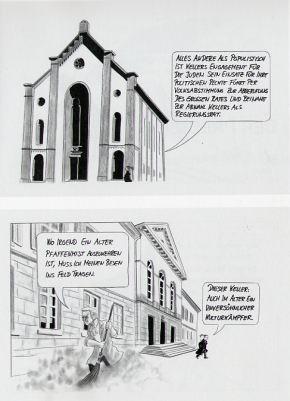 Augustin Keller Comic